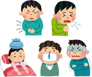 の 始め 風邪 引き